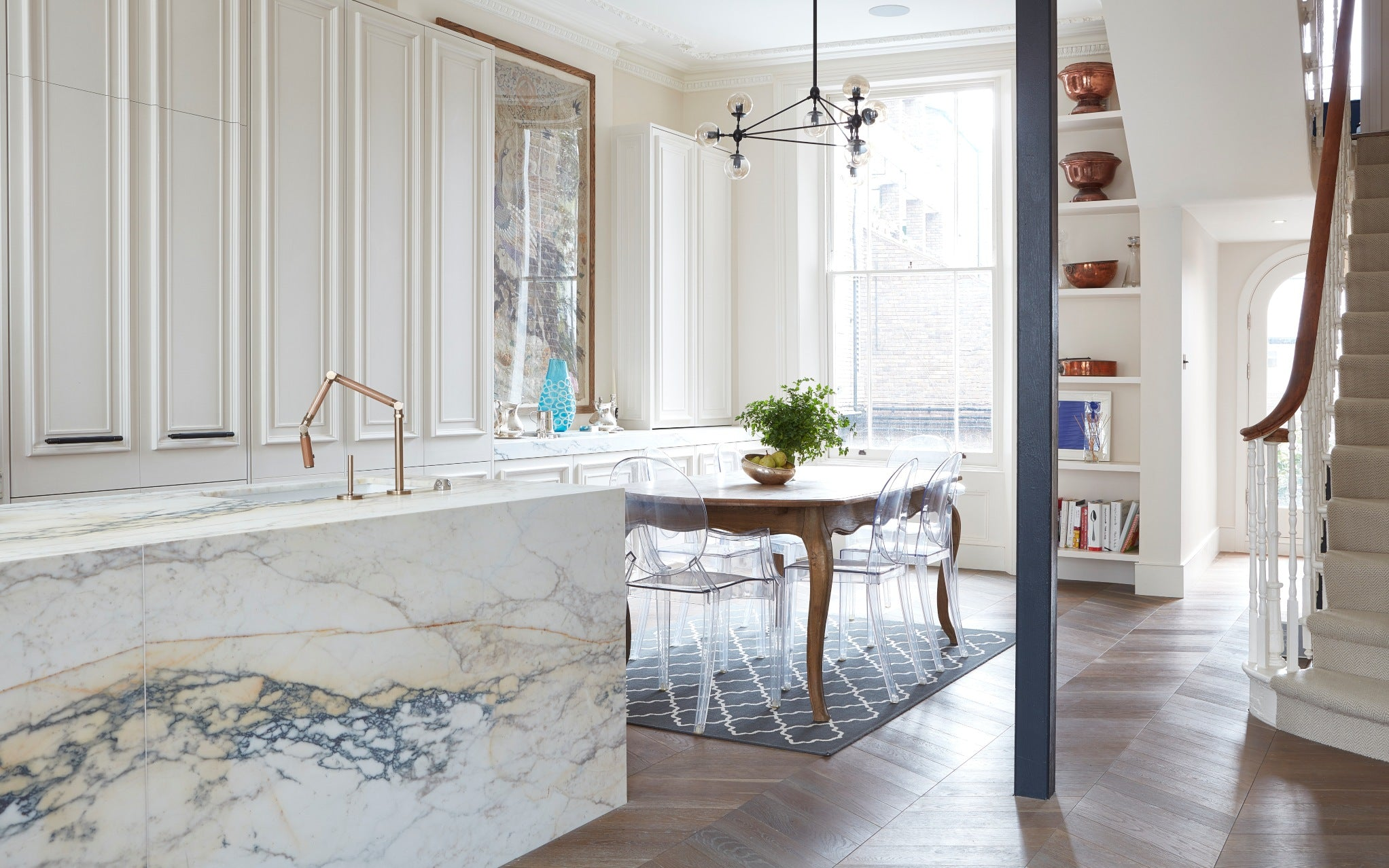 Disappearing Kitchen - The Latest Kitchen Trends in 2019 with Blakes London - LuxDeco.com