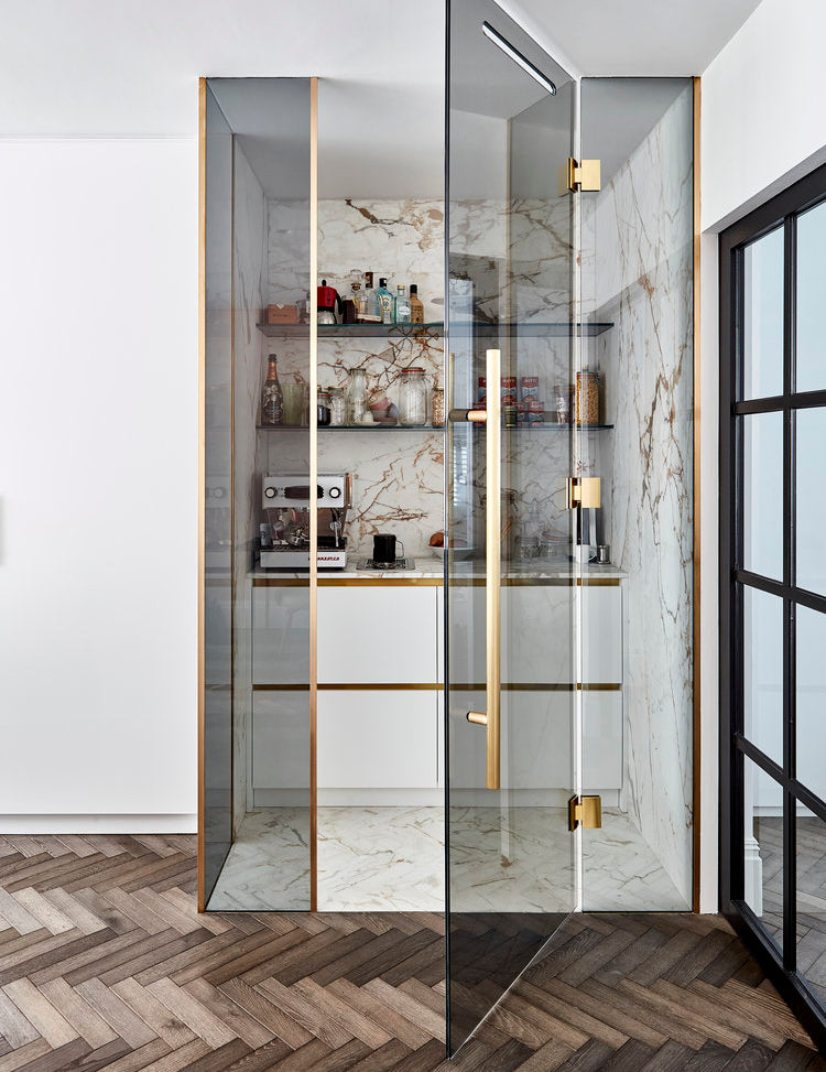 Rise Of The Luxe Larder - The Latest Kitchen Trends in 2019 with Blakes London - LuxDeco.com