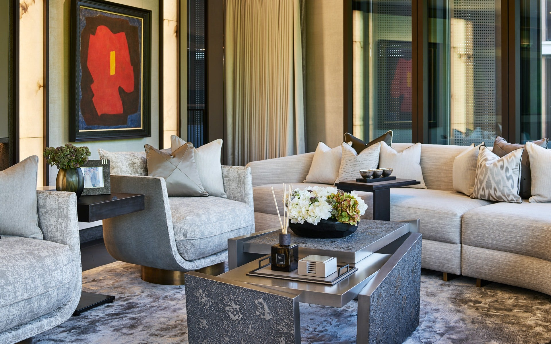Statement Furniture - 7 Ways To Make a Statement In Your Living Room - LuxDeco.com