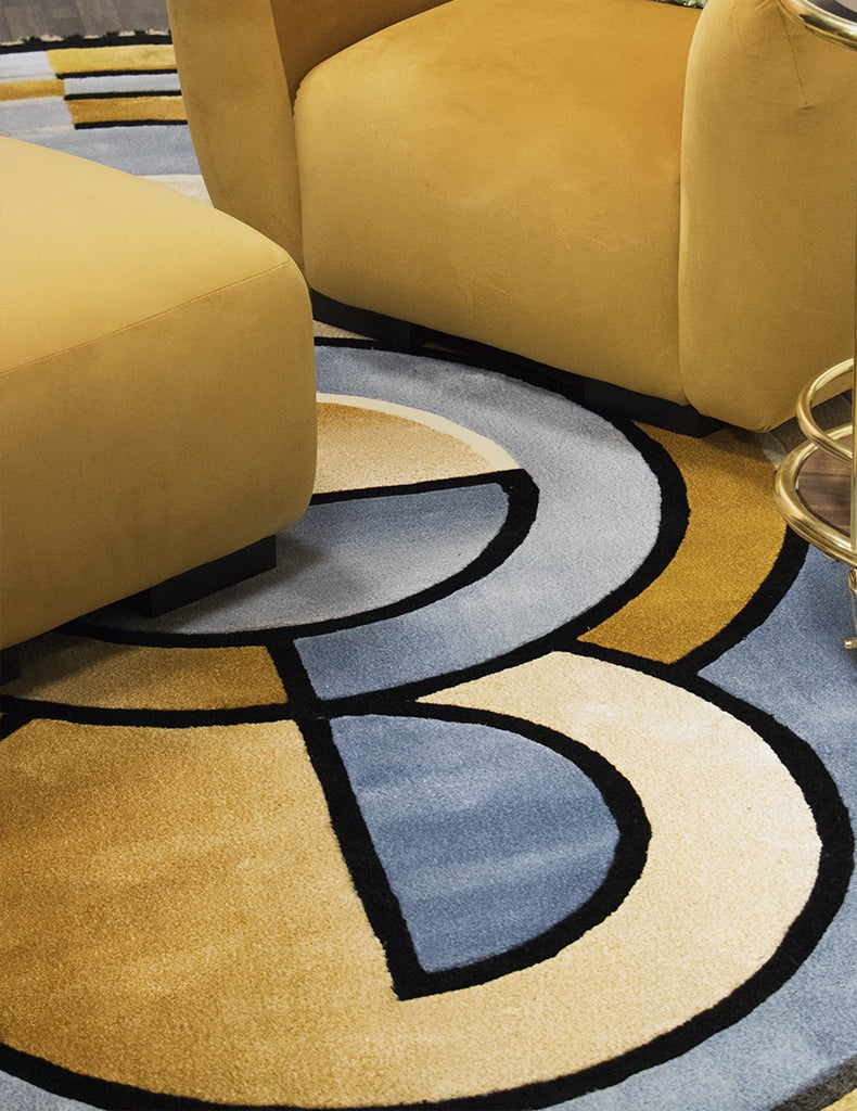 Statement Rugs - 7 Ways To Make a Statement In Your Living Room - LuxDeco.com Style Guide
