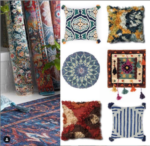 Justina Blakeney Rugs & Cushions available now