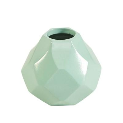 Diamonds Husky Small Vase - Mint