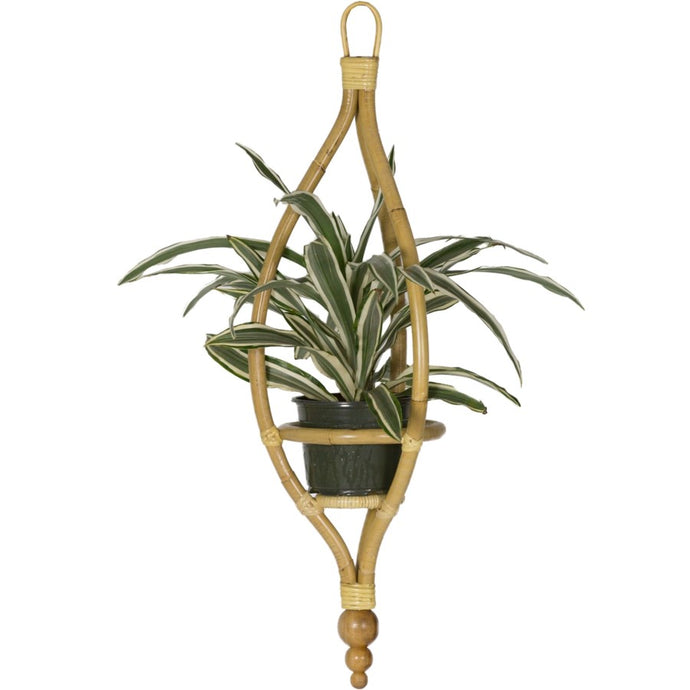 Miya Hanging Planter - Natural