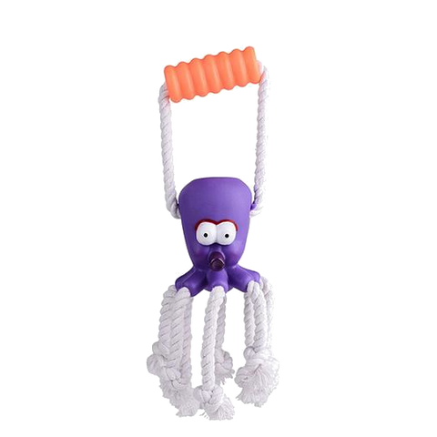 Dog Toy Octopus Rope Teether