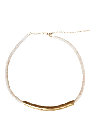 14kt Gold Dipped Fresh Water Pearl-Chain