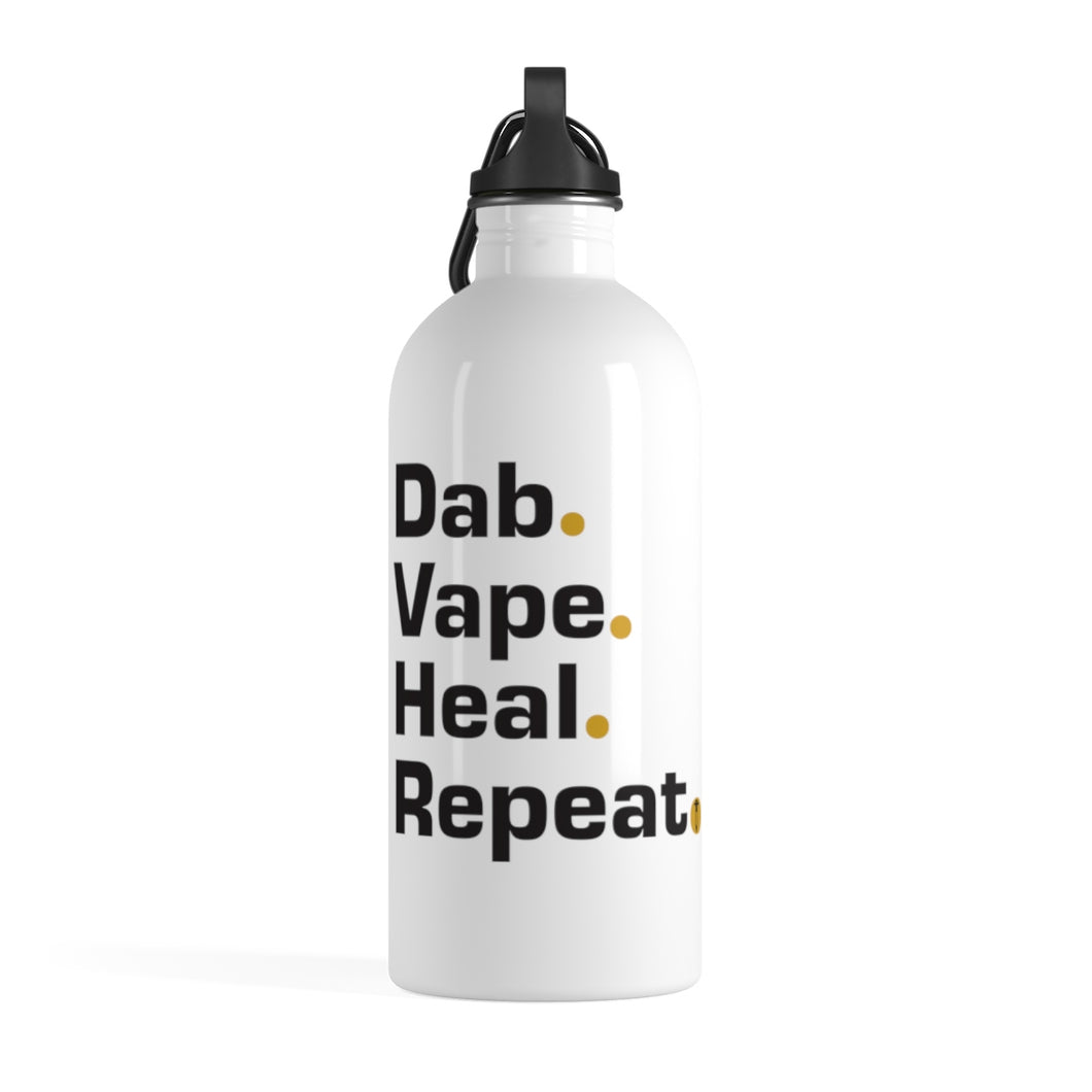 Terpstillate Mantra with Logo Stainless Steel Water Bottle