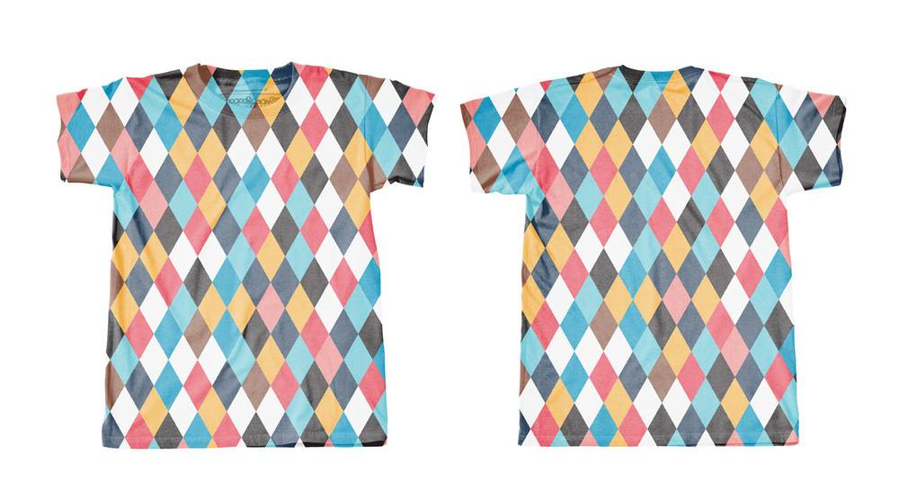 Googoo and Gaga Mens Tees Harlequin