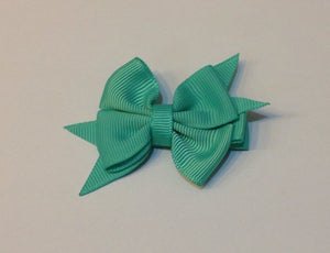 Celestina & Co. Petite Signature Bow Tropic Green