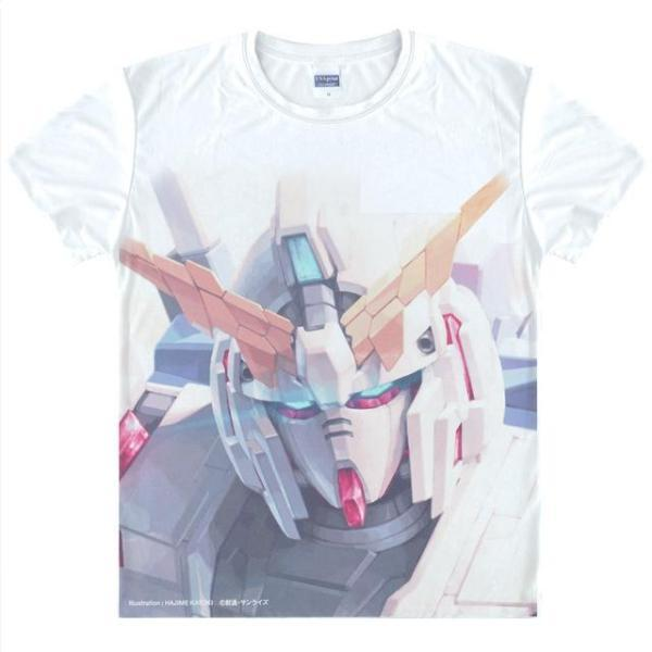 T-Shirt - Gundam Shirt ガンダム RX-0 Unicorn Destroy Mode Art