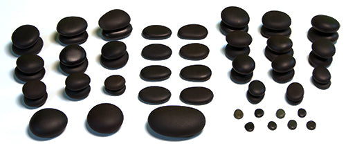 59 Piece Hot Stone Massage Value Set - Spa & Bodywork Market