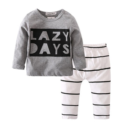 LAZY DAYS Print Cotton Long Sleeve for Babies -