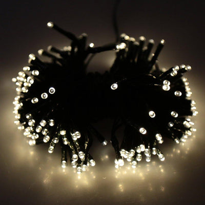 17-Meter String of 100 LED Solar-Powered Fairy Lights -
