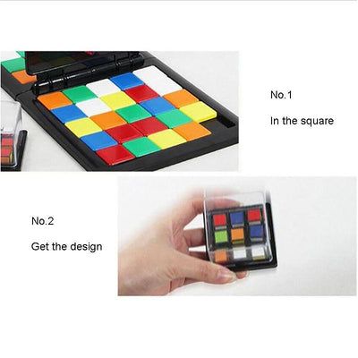 Rubik's Race Board Game -
