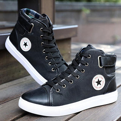 Classic High-Top Canvas - Black / 7