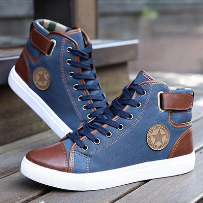 Classic High-Top Canvas - Blue / 7