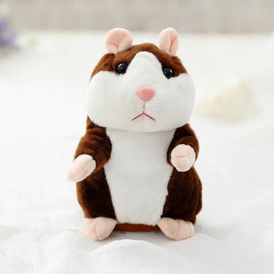 Hamster Talking Toy - Dark Brown