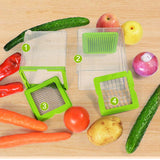 Fruit Vegetable Chopper Slicers Cutters Mincer