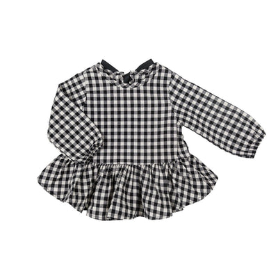 Check Baby Blouse - Kids Edition