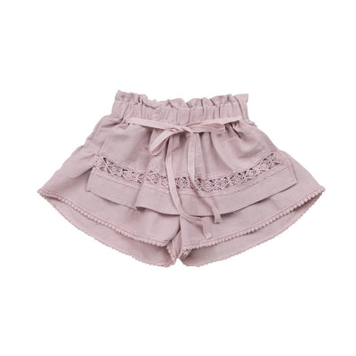 Pink Willow Apron Short - Kids Edition