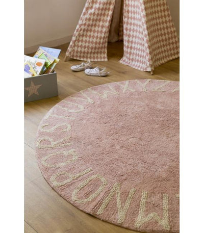 Round Abc Vintage Nude Natural - Kids Edition