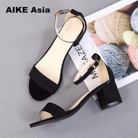 Hot Summer Women Shoes High Heels With Peep Toe Casual 997