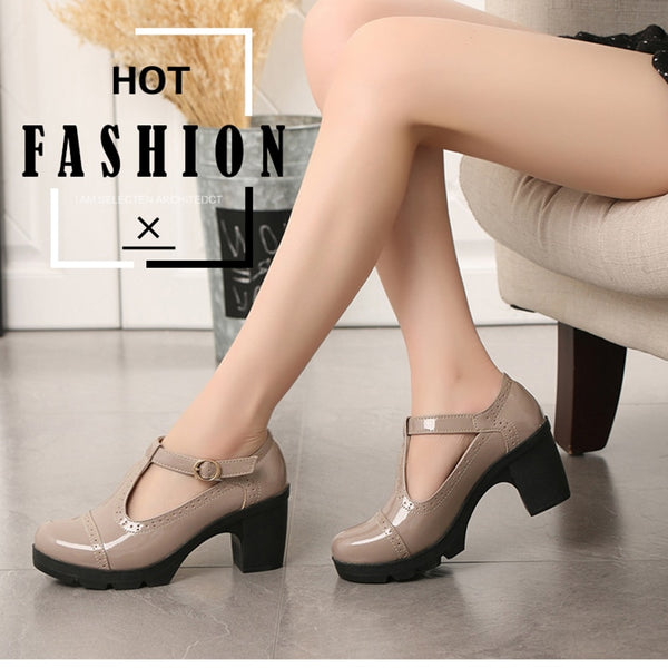 Casual Mary Jane Platform Shoes