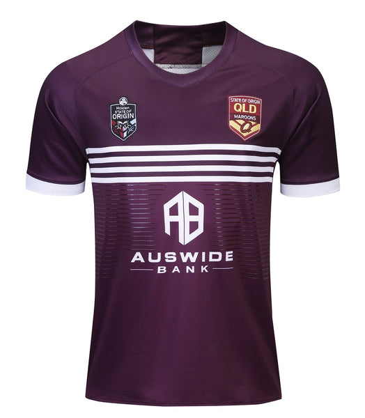QLD Maroons Jerseys Plus Sizes S - 5XL