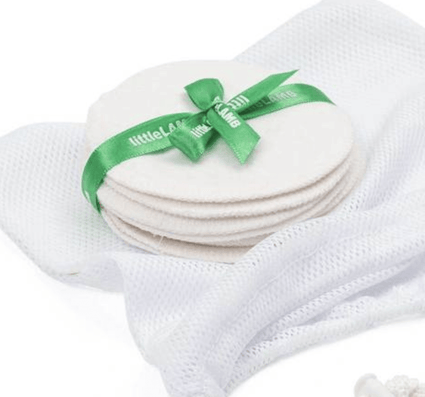 Washable Bamboo Breast Pads from LittleLamb - Acala
