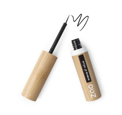 Black Refillable Liquid Eyeliner from Zao - Acala
