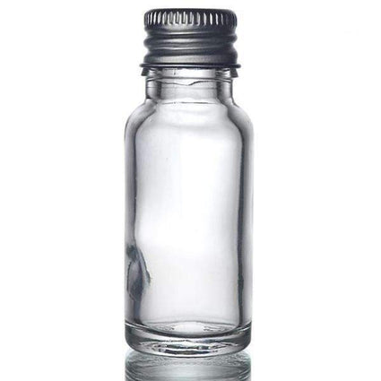 Glass Dropper Bottle with Aluminium Cap - Acala