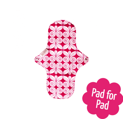 Organic Cotton Night Pad from EcoFemme - Acala