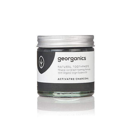 Activated Charcoal Toothpaste from Georganics - Acala
