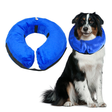 Soft Protective Inflatable Recovery Pet Collar