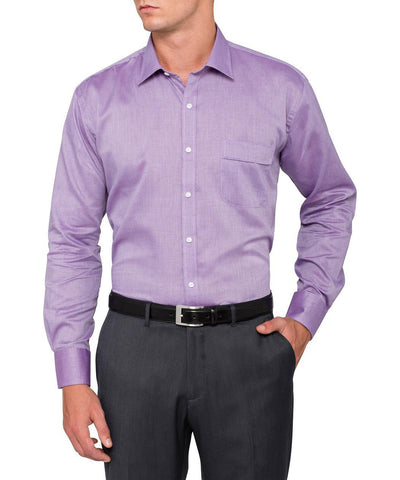 VAN HEUSEN A103 Classic Relaxed Fit Shirt Herringbone