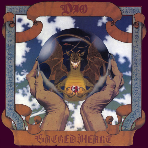 Dio - Sacred Heart (Clear Vinyl LP)