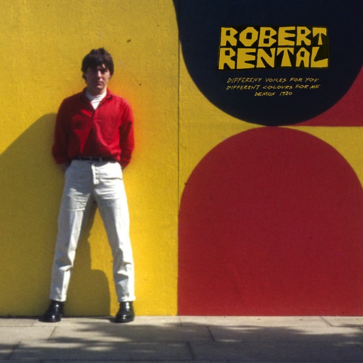 Robert Rental - Different Voices For You. Different Colours For Me. Demos 1980 (Import LP)