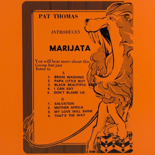 Marijata - Pat Thomas Introduces Marijata (LP)