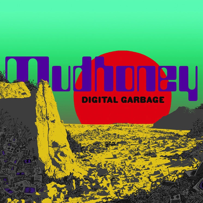 Mudhoney - Digital Garbage (Indie Only Seafoam Green LP)