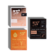 Trio Bundle I Coffee + Tea