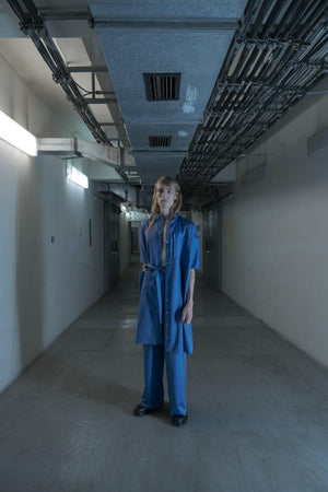 LABORATORY BLUE LONG SHIRT