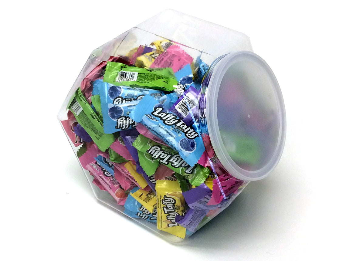 Laffy Taffy - bite-size assorted flavors - 3 lb Plastic Tub (135 ct)