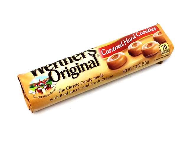 Werther's Original Hard Candies - 1.8 oz roll