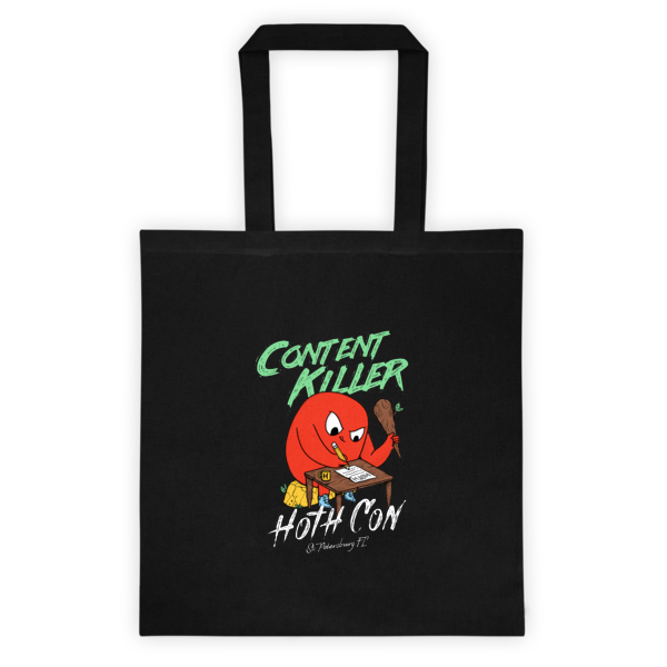 HOTH Content Killer Tote bag
