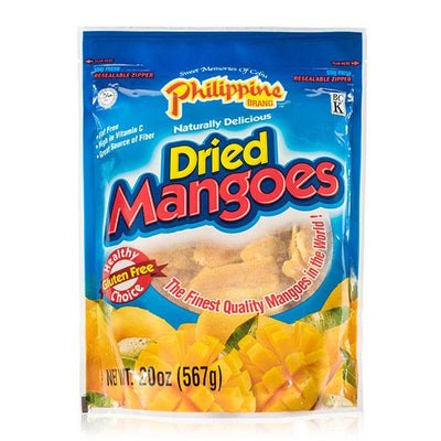 Dried Mangoes 20oz - Philippines Mangoes