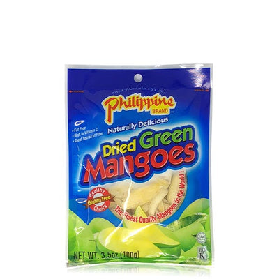 Dried Green Mangoes 3.5oz - Philippines Mangoes