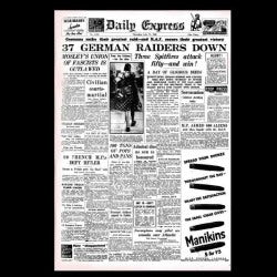 Daily Express - Battle of Britain - 11th July 1940