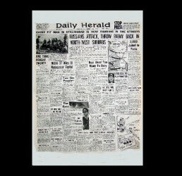 Daily Herald - the war in Russia - 22nd September 1942