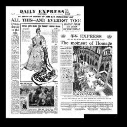 Daily Express - Coronation Elizabeth II - June 3rd 1953