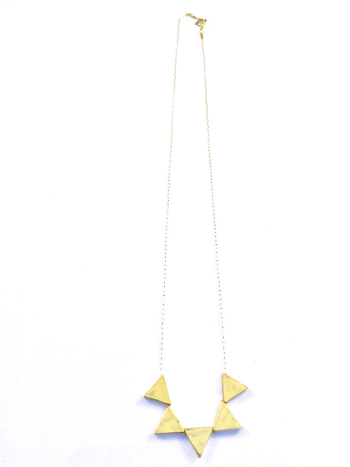 5 Triangle Necklace