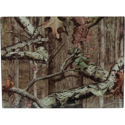 Rivers Edge Products Mossy Oak Infinity Glass Cutting Board